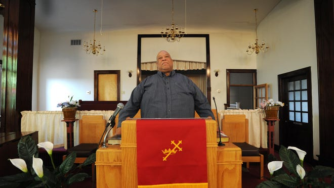 The Rev. Ernest Dandridge will celebrate his first year at the helm of Union Baptist Church at the end of July.