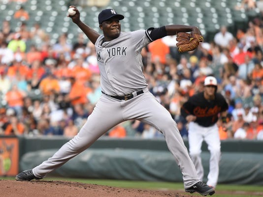 MLB: New York Yankees at Baltimore Orioles