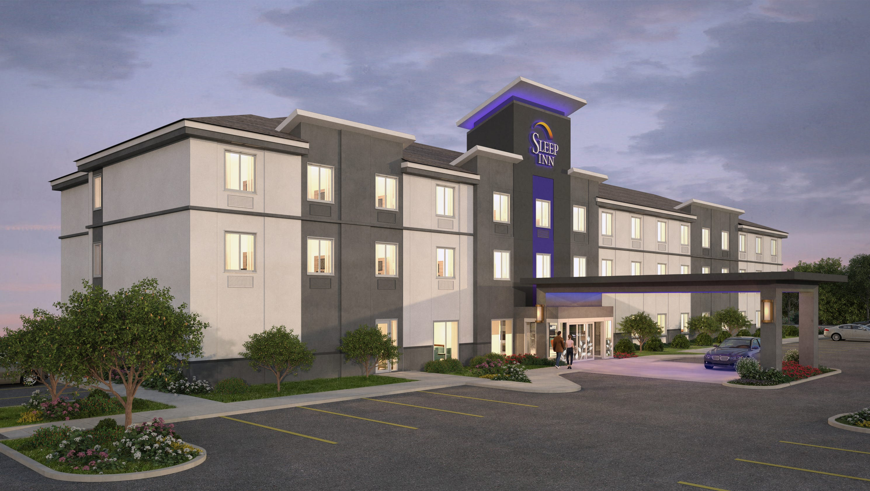 Midscale Brand Sleep Inn Gets A Modern Look