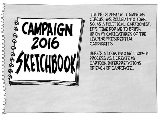Mike Thompson's cartoon look at the presidential candidates!