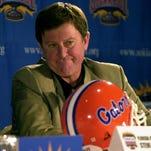 Former Florida coach Steve Spurrier in 2000.
