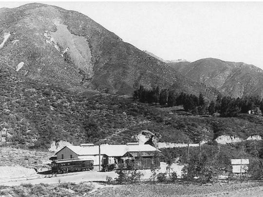 This 1912 photo, which Nestlé submitted to California