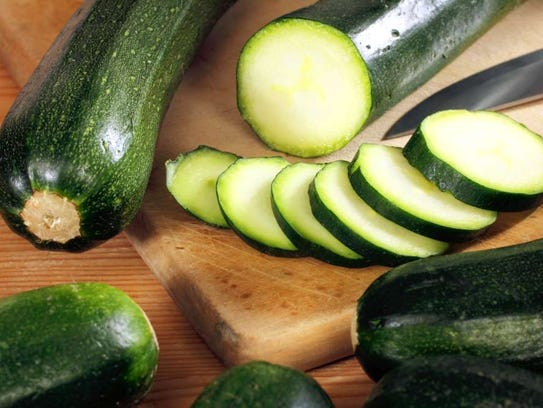 Zucchini is not only great for salads but for warm