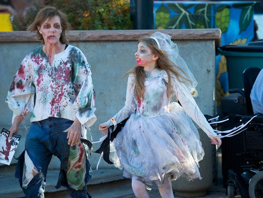 The Old Town Zombie Fest in Fort Collins Saturday,