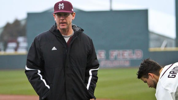 The threat of inclement weather forced Mississippi State to cancel its game tonight against Northwestern State.