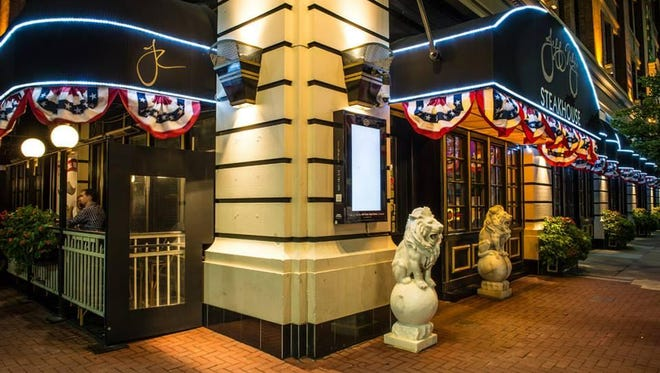 Jeff Ruby's Steakhouse, Downtown, ready for the All-Star Game