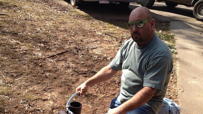 Scott Knibbs was shot in his home in Franklin by a sheriff's deputy responding to a neighborhood dispute. It is still under investigation.
