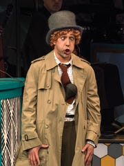 "Tasso Feldman plays Harpo (Silent Red) in ""The Cocoanuts."""