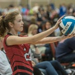 The Capital City Juniors Heart of Dixie Volleyball Tournament kicked off with 76 teams, age 12-under and 18-under, from Alabama, Georgia and Florida playing on 11 courts at the Renaissance Montgomery Hotel and Spa at the Convention Center in Montgomery, Ala., on Saturday, Jan. 16, 2016. The tournament concludes with the championships on Sunday.