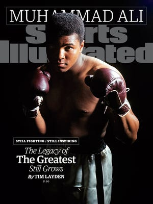 Muhammad Ali graces the SI cover for the 39th time this week.