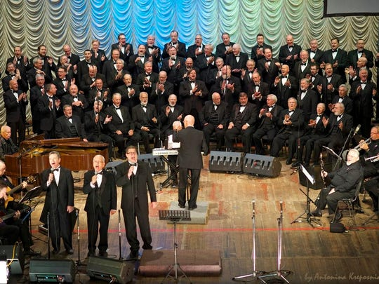 The Singing Men of Texas, performing Oct. 19 at Faith Baptist Church, present eight concerts a year at members' churches. Eight are from Wichita Falls.