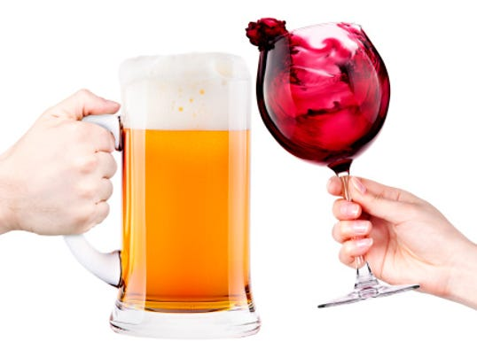 Image result for wine vs. beer