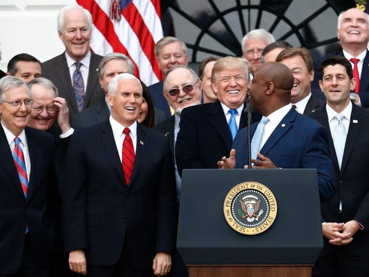 Trump Tax Celebration