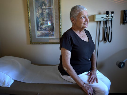 Kathleen Marshal is a patient at Dr. Ty Webb's Cumberland