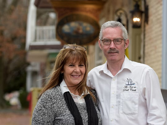 Donna Ignasz and Howard Johnson were former partners in the Inn at Duck Creek. The restaurant in Smyrna closed Tuesday. The town, building owner and Ignasz and Johnson are looking for a new restaurateur to run the business.