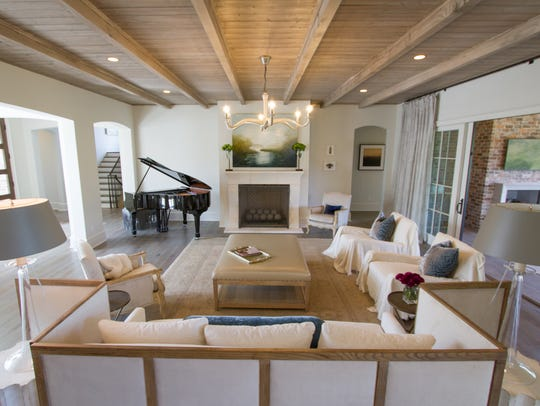 With an open floor plan, Castle Homes' craftsmanship
