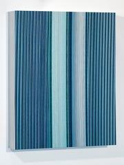 "John Vokoun's ""Blue Slit Distortion."""