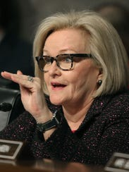 Sen. Claire McCaskill, D-Mo., is being criticized for