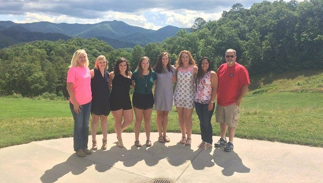 Players from Buncombe, Cherokee, Jackson and Macon counties are this year's winners of the Trooper Shawn Blanton Softball Scholarship.
