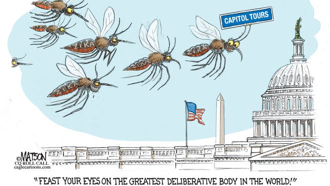 Zika Virus Comes To Capitol Hill