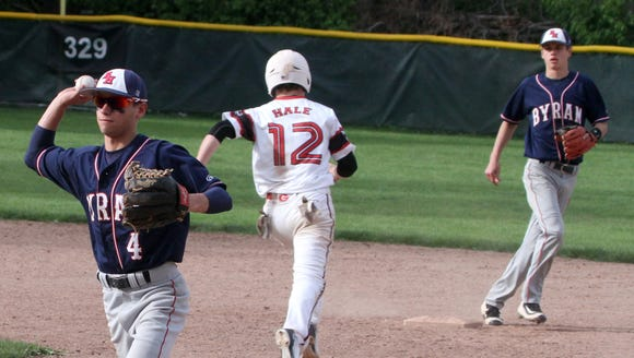 Byram Hills defeated Rye 4-0 in a varsity baseball