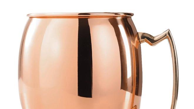 Old Dutch four-piece (16-ounce copper Moscow mule mug set ($137 for four, kohls.com)