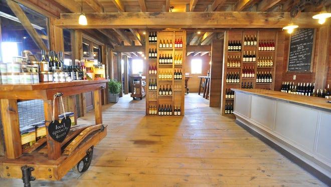 Ravines Wine Cellars' tasting room in Geneva.