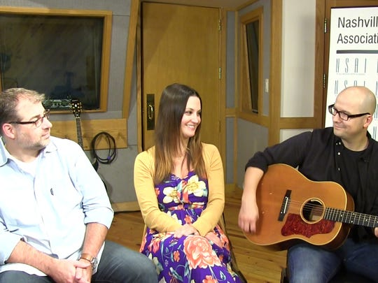 "Songwriters Barry Dean, Natalie Hemby and Luke Laird co-wrote the hit country song ""Pontoon."""