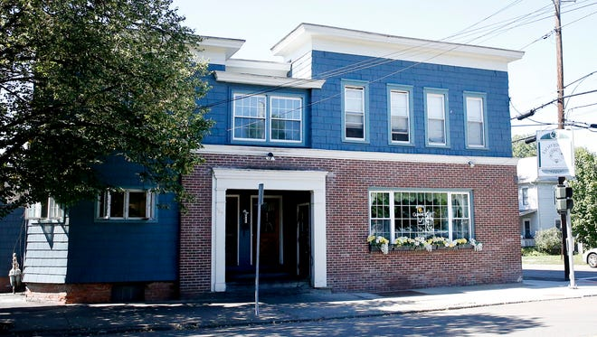Horigan's Tavern, on Davis Street in Elmira, is up for sale. The building, which includes three apartments, appliances and equipment, has a price tag of $399,000.