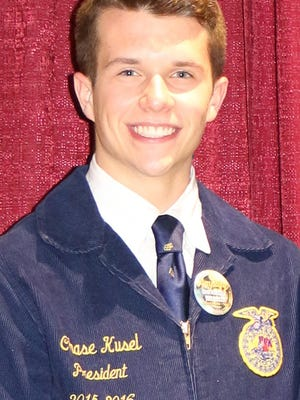 Benton Community's Chase Kusel is only the fourth FFA member in the 64-year history of the Benton Community FFA to serve as a State FFA Officer. He was recently elected to the office of State FFA Secretary.