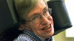 In this July 21, 1999 file photo Professor Stephen