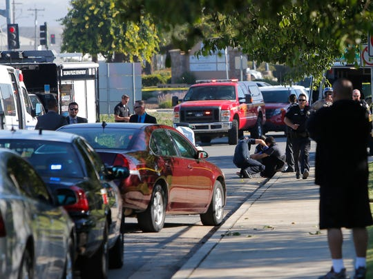 Two people died and two others were wounded during a shooting in a parking lot on Blanco Circle in Salinas Thursday morning.
