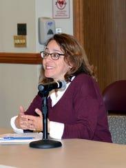 Ridgewood, NJ 12/5/16   Mary Micale, President of the