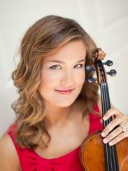 Celeste Golden Boyer, candidate for CCO concertmaster