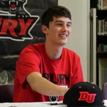 Strafford senior Grant Boswell signed Friday to play basketball at Drury University.