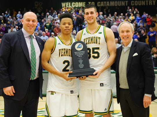 UVM has gone 31-1 in America East Conference play the past two seasons.