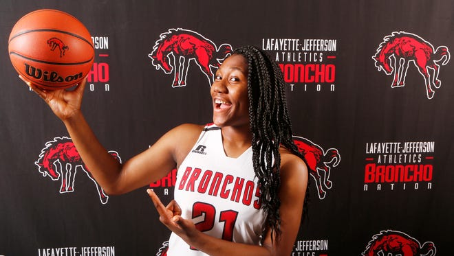 Kiara Lewis of Lafayette Jeff is the 2018 Journal & Courier Big School Player of the Year for basketball.