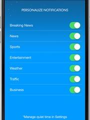 Highlights of the updated Des Moines Register mobile app.