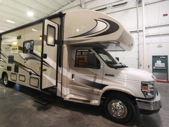 RVs of all types will cover the Ozark Empire Fairgrounds at the RV Mega Show.