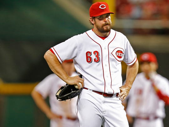 The Reds need J.J. Hoover, Sam LeCure and Co. to hold the fort until Chapman gets back.