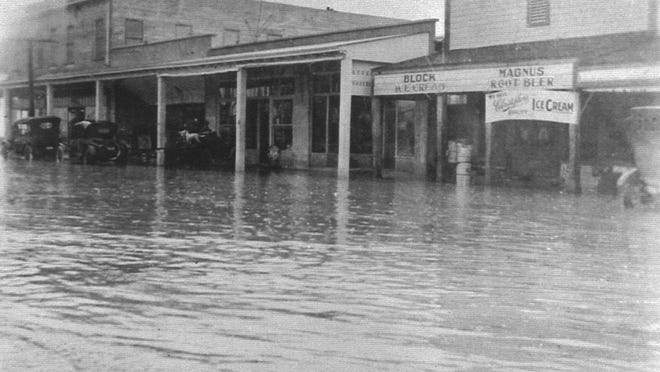 The city of Coachella experienced major flooding in 1927.