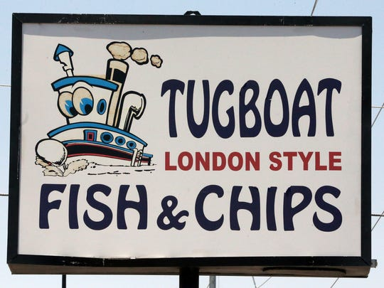 Tugboat London Style Fish & Chips is located at 5501 Dyer in Northeast El Paso.