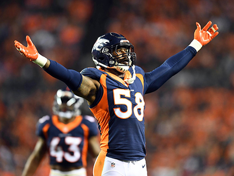 Enter to win two tickets to the Coloradoan Sports Awards featuring Von Miller. Enter 1/19-5/1.