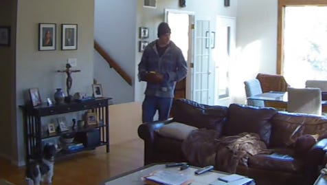 Fairview Township Police are hoping to identify this man, who allegedly broke into a home on Green Lane Drive and took several items.