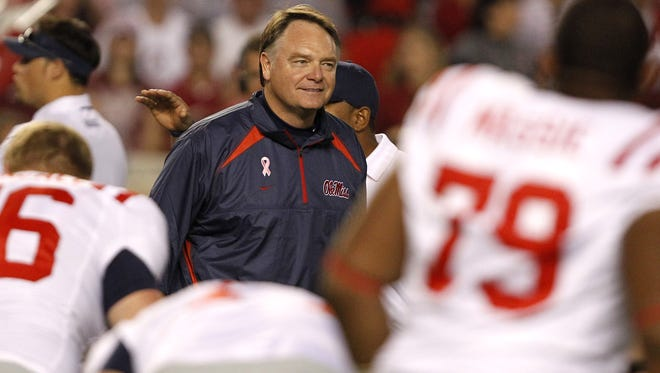 Houston Nutt is suing Ole Miss for a breach of contract, a breach of good faith and fair dealing and punitive damages.