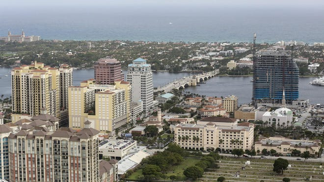Palm Beach County unemployment stands at 4.8 percent.