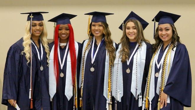West Boca Graduation at The South Florida Fairgrounds, Wednesday, May 22, 2019.