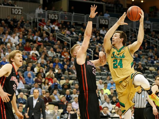 NCAA Basketball: NCAA Tournament-2nd Round-Notre Dame vs Northeastern