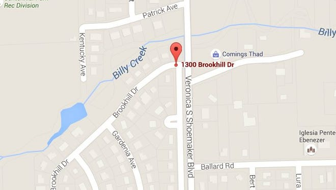 Two people were shot on the 1300 block of Brookhill Drive in Fort Myers on Wednesday, May 26, 2016