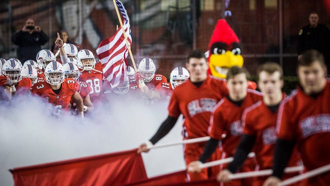 Ball State faced off against Eastern Michigan at Scheumann Stadium Tuesday, Nov. 8, 2016.